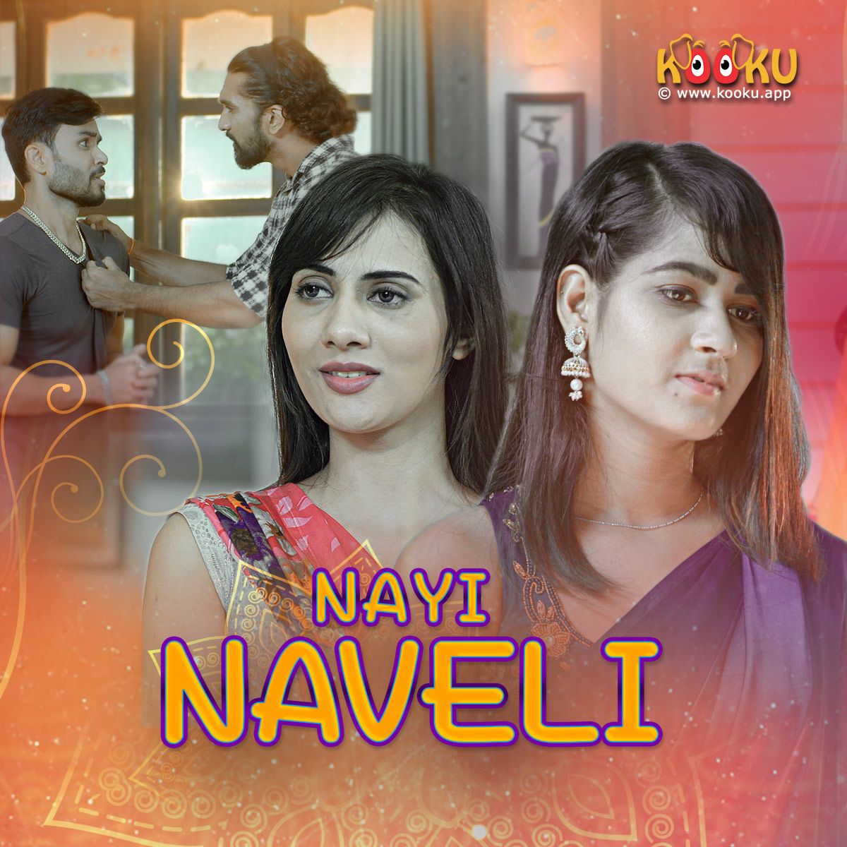 18+ Nayi Naveli 2021 S01 Hindi Complete Kooku App Original Web Series 720p HDRip 200MB x264 AAC