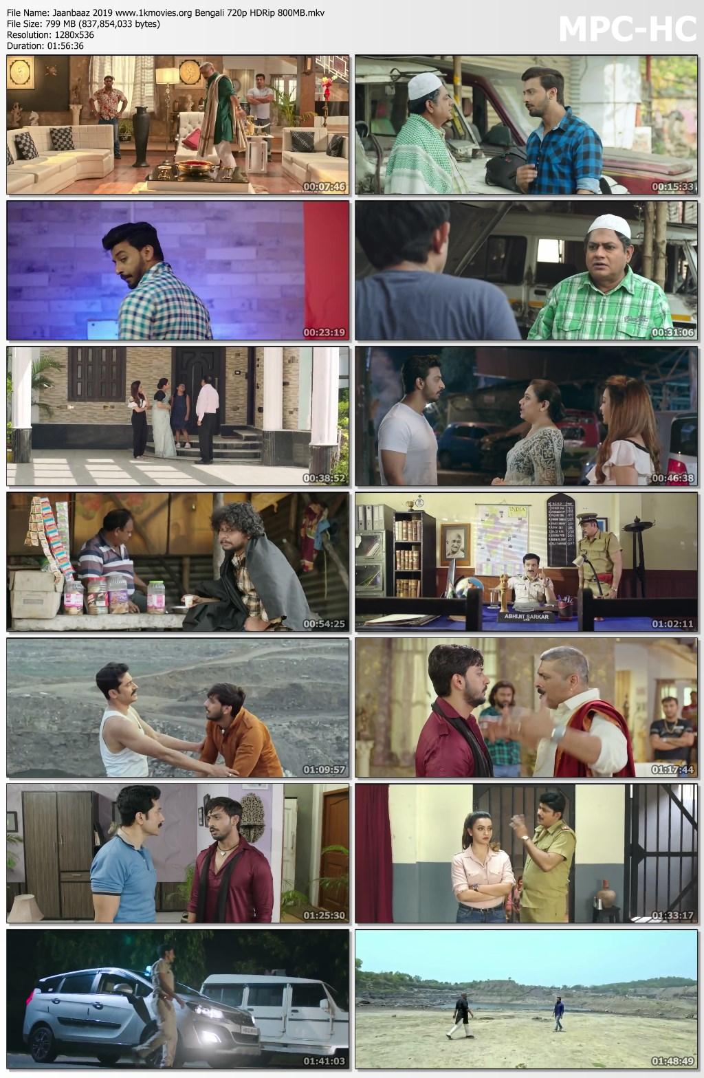 Jaanbaaz 2019 Bengali 720p HDRip 800MB Download