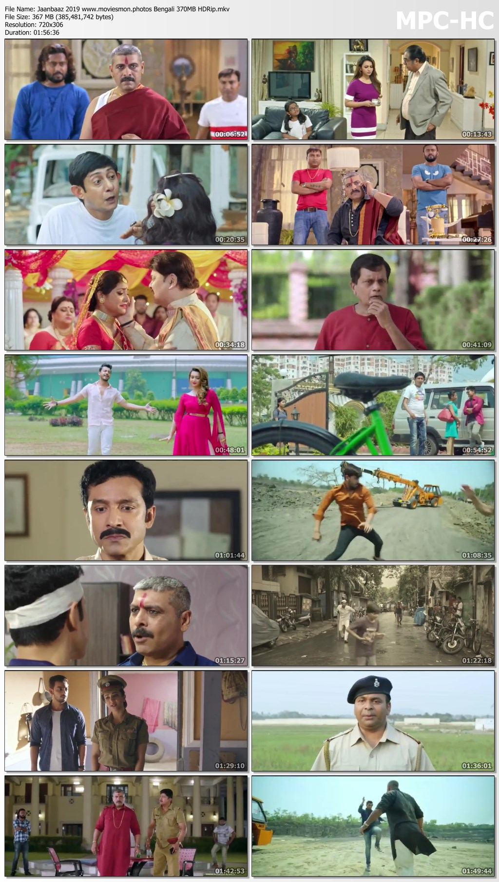 Jaanbaaz 2019 Bengali Full Movie 350MB HDRip Download