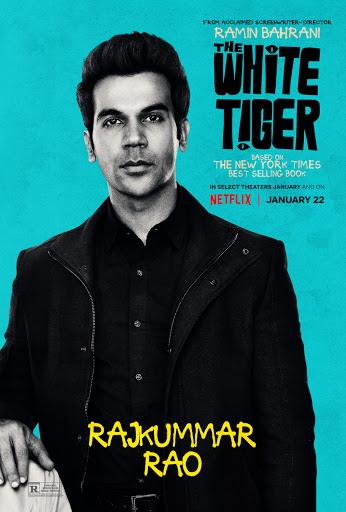 The White Tiger 2021 Hindi Full Movie 720p NF HDRip 850MB ESub Download