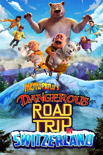 Motu Patlus Dangerous Road Trip in Switzerland 2021 Hindi 720p HDRip 270MB Download