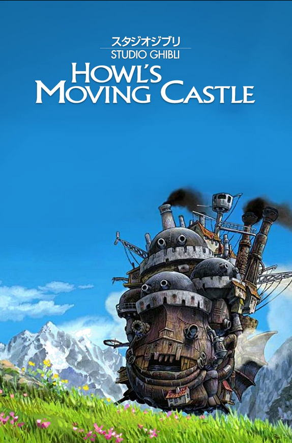 Howls Moving Castle 2004 Dual Audio Hindi ORG 400MB BluRay ESub Download