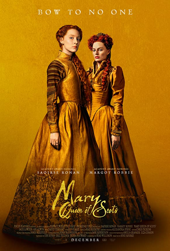Mary Queen of Scots 2018 Hindi Dual Audio 1080p BluRay ESub 2040MB Download