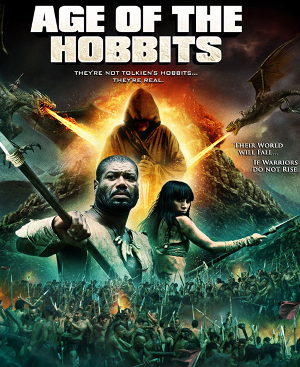 Age of the Hobbits 2012 Hindi Dual Audio 300MB BluRay ESub Download