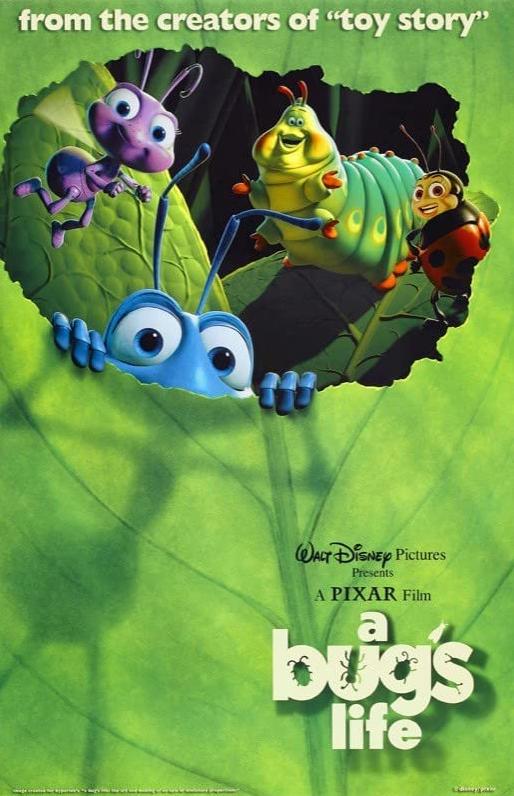 A Bug's Life 1998 Dual Audio Hindi ORG 1080p BluRay ESub 1.4GB Download