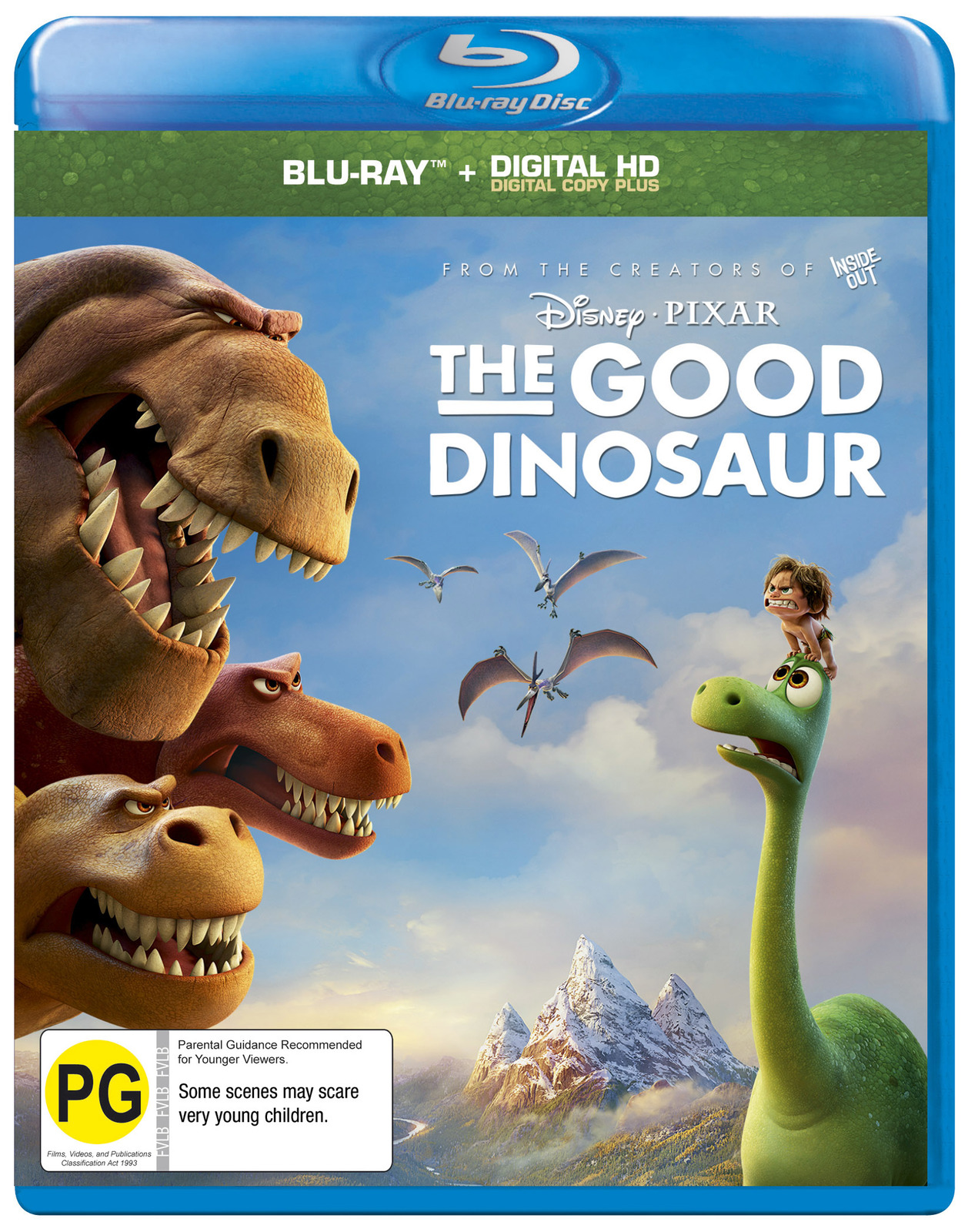 The Good Dinosaur 2015 Hindi Dual Audio 350MB BluRay ESub Download