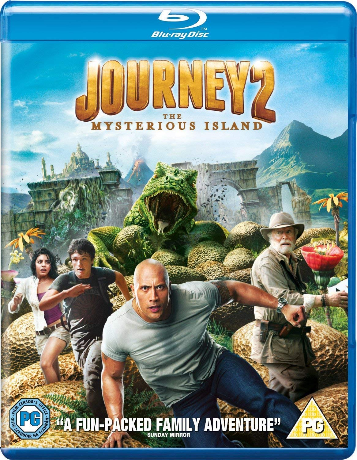 Journey 2 The Mysterious Island 2012 Hindi Dual Audio 350MB BluRay ESub Download