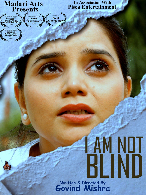I Am Not Blind 2021 Hindi Full Movie 720p HDRip 680MB ESub Download