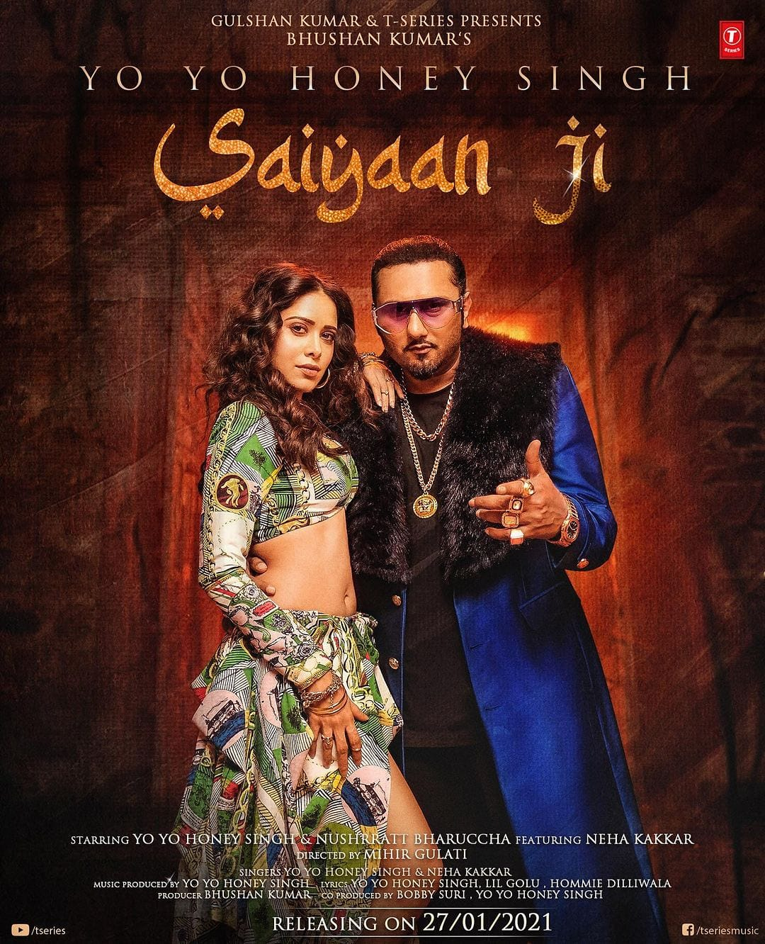 Saiyaan Ji By Yo Yo Honey Singh 2021 Hindi Full  Music Video 1080p HDRip 65MB Download