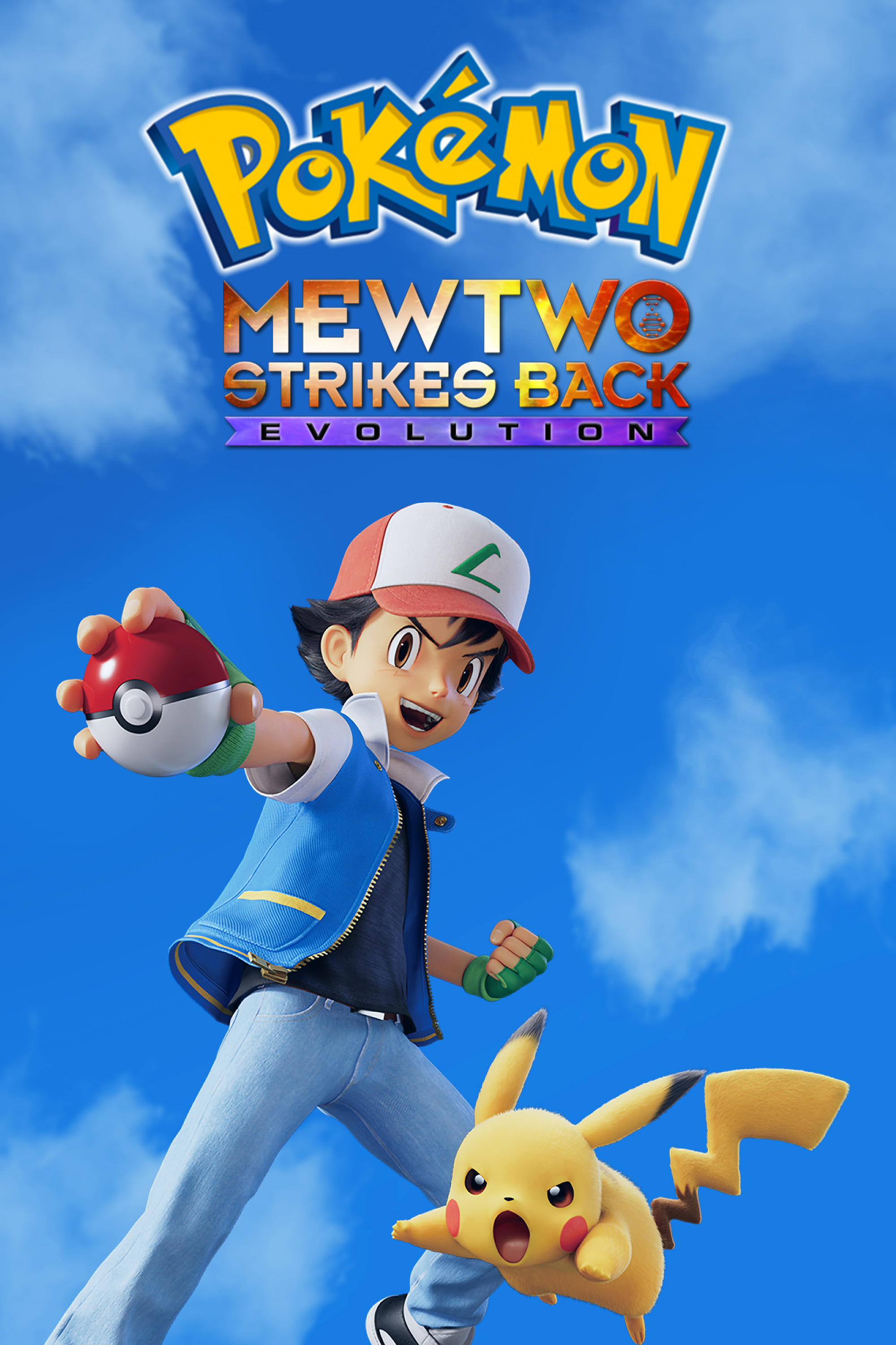 Pokemon Mewtwo Strikes Back Evolution 2019 Hindi Dual Audio 355MB BluRay Download