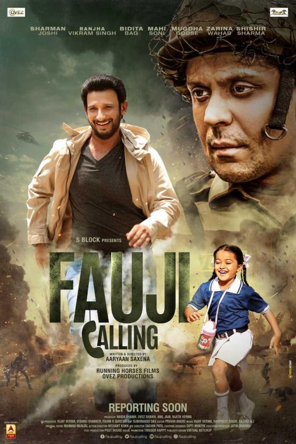 Fauji calling 2021 Hindi 400MB HQ PreDVDRip Download