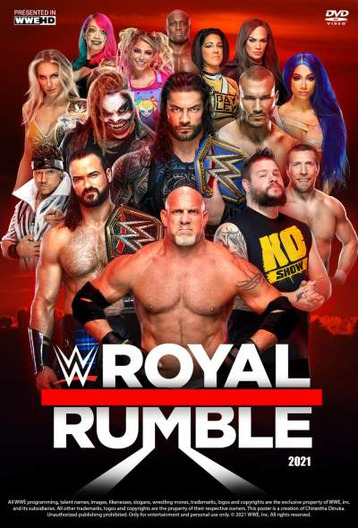 WWE Royal Rumble 2021 English HDRip 700MB Download