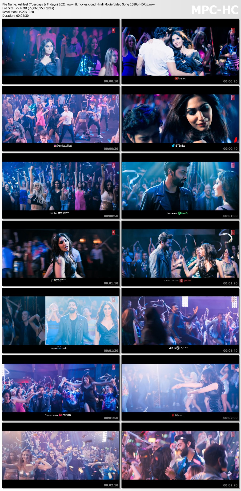 Ashleel (Tuesdays & Fridays) 2021 Hindi Movie Video Song ...