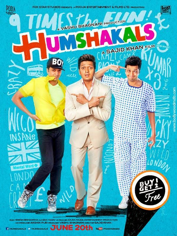 Humshakals 2014 Hindi Movie 720p BluRay 1.1GB Download
