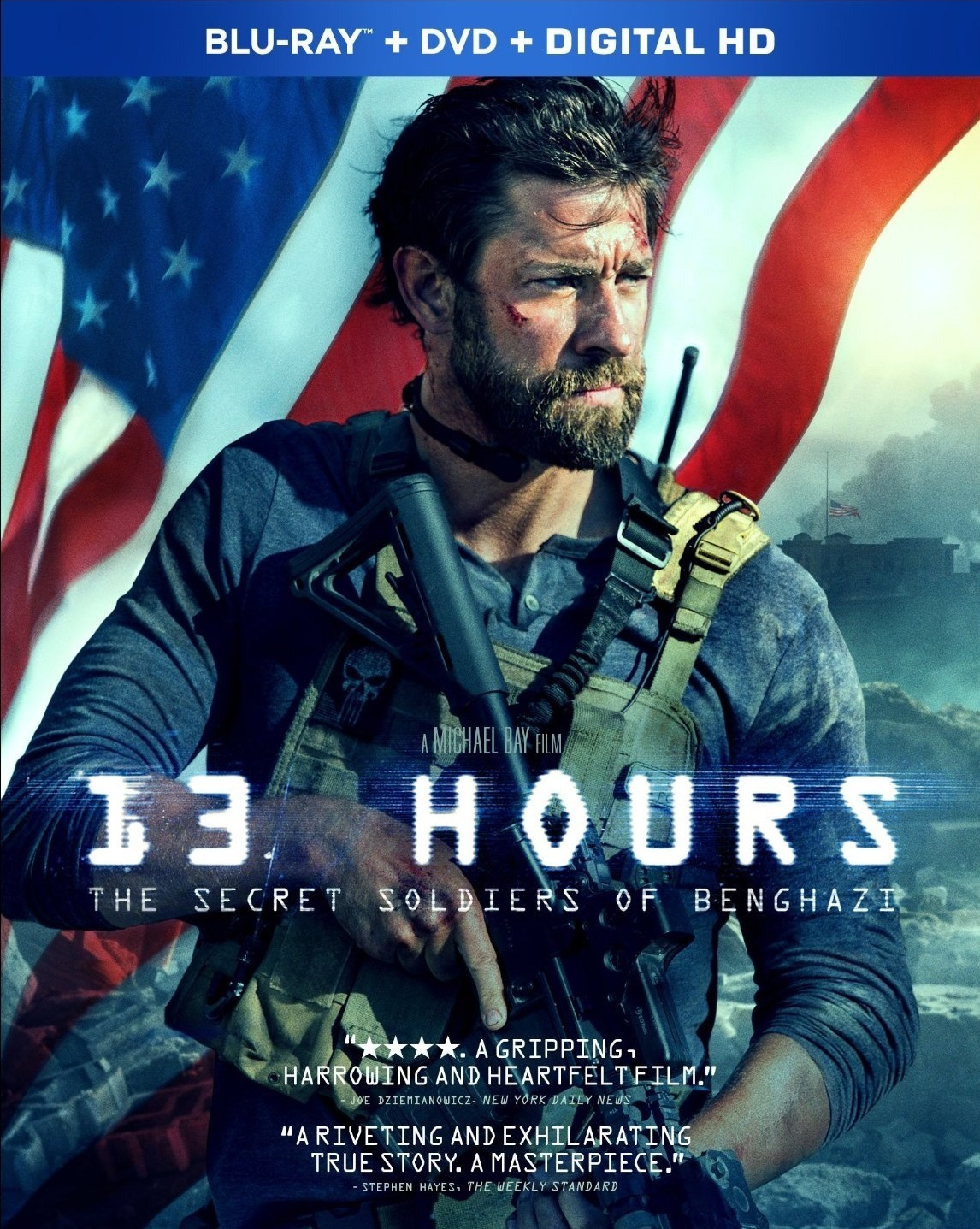 13 Hours: The Secret Soldiers of Benghazi 2016 Hindi Dual Audio 515MB BluRay ESubs Download