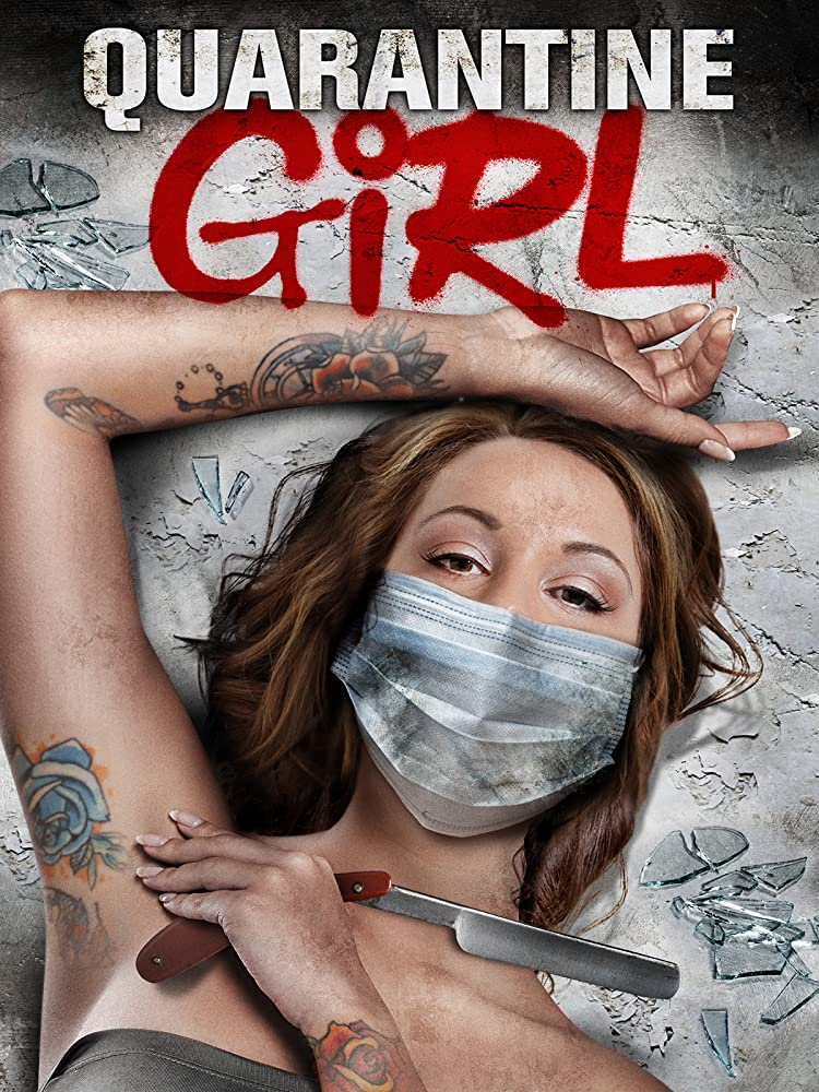 Quarantine Girl 2020 English 720p HDRip 800MB Download