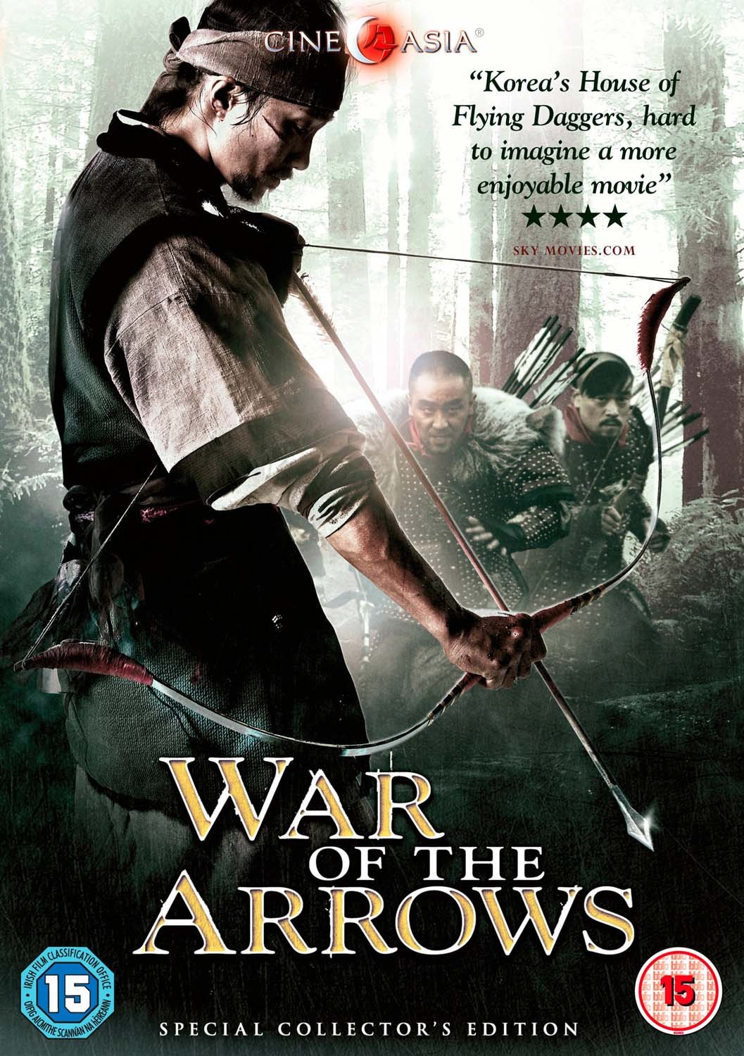 War of the Arrows 2011 Hindi Dual Audio 435MB BluRay ESub Download