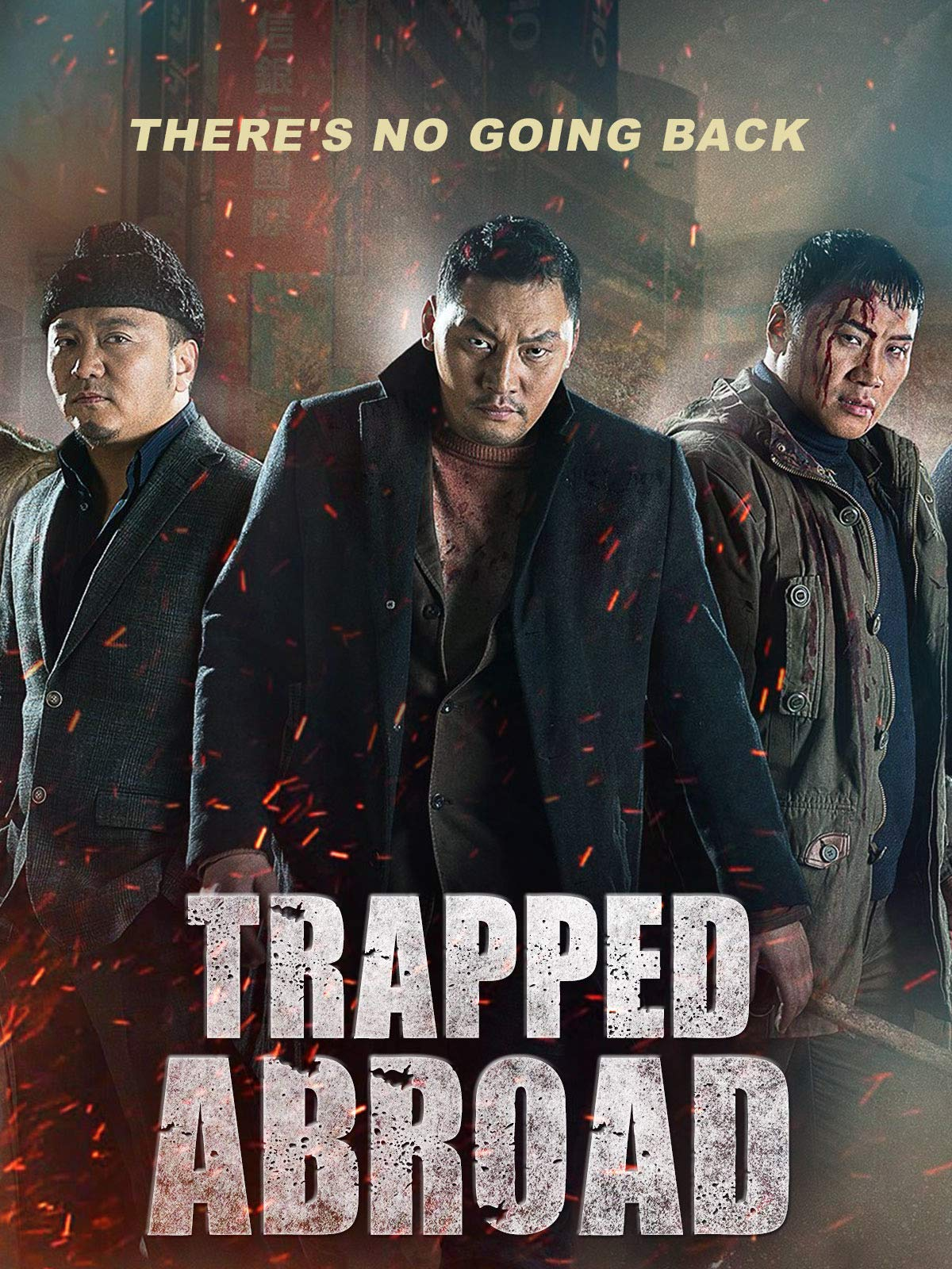 Trapped Abroad 2014 Hindi Dual Audio 350MB HDRip Download