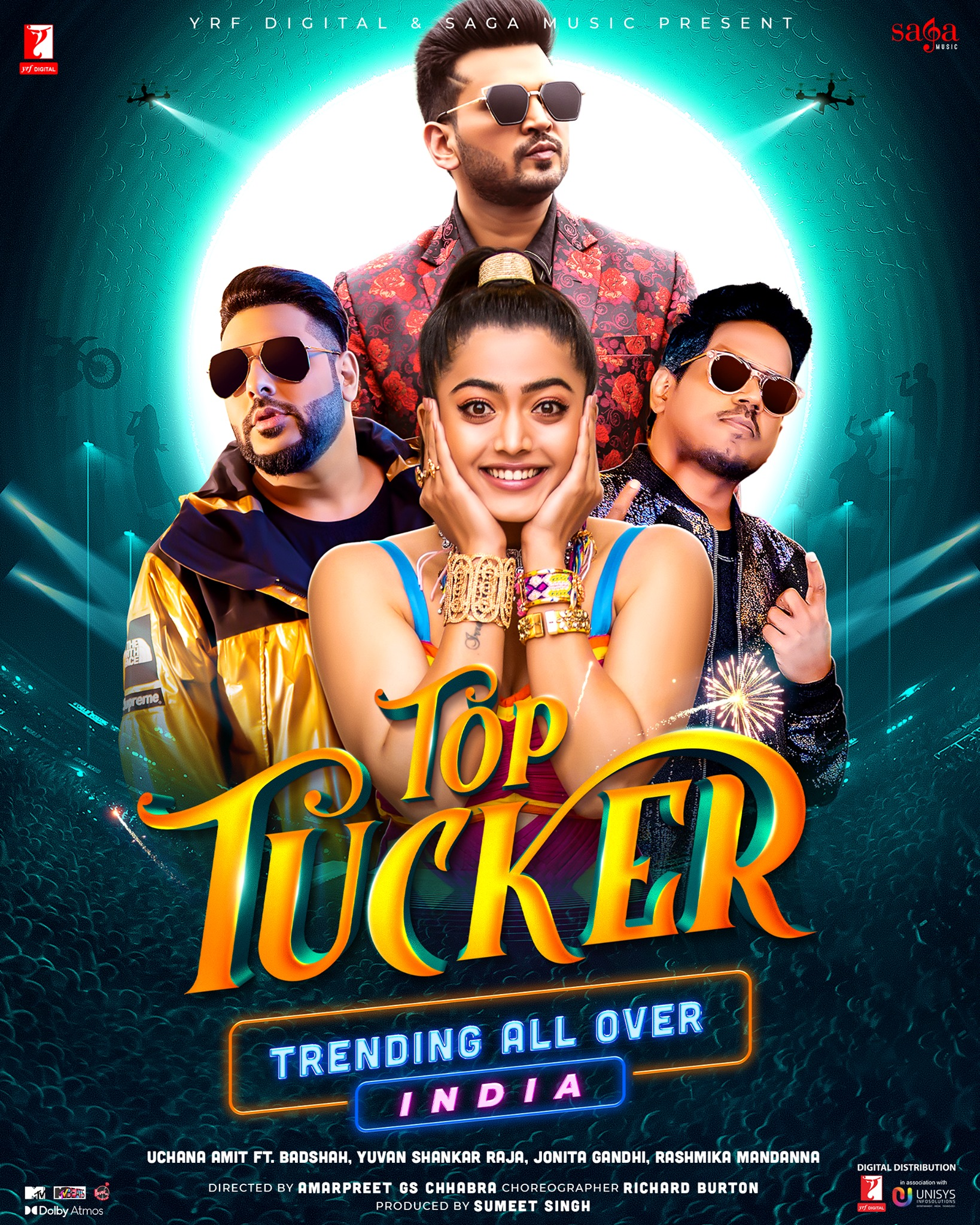Top Tucker By Badshah Official Music Video 1080p HDRip 130MB Download