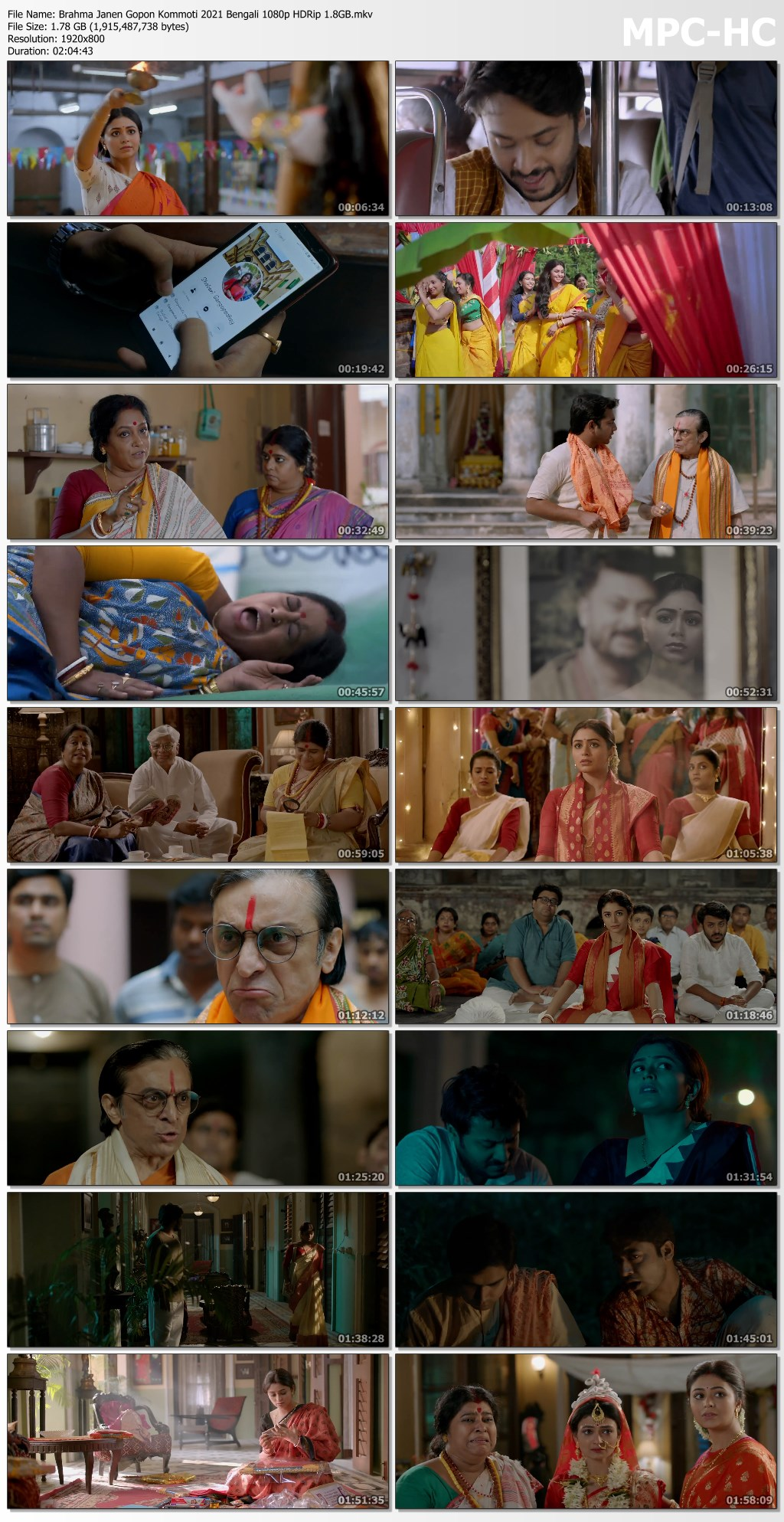 Brahma Janen Gopon Kommoti 2021 Bengali 1080p HDRip 1.8GB.mkv thumbs