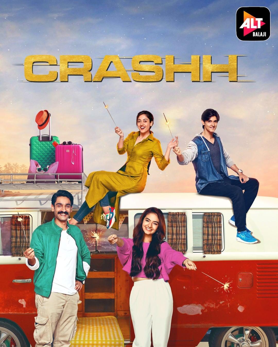 Crashh 2021 Season 01 Hindi Complete Web Series 720p HDRip x264