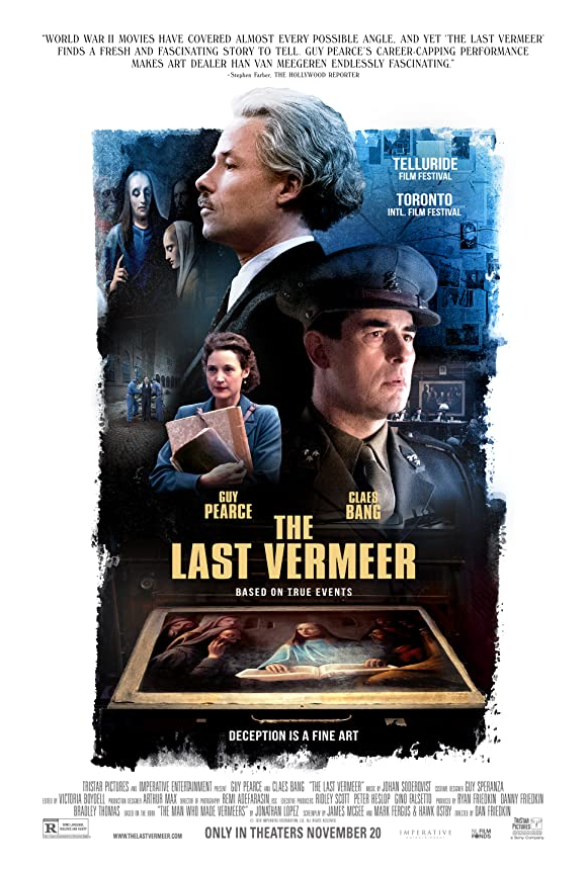 The Last Vermeer 2021 English 720p HDRip 800MB