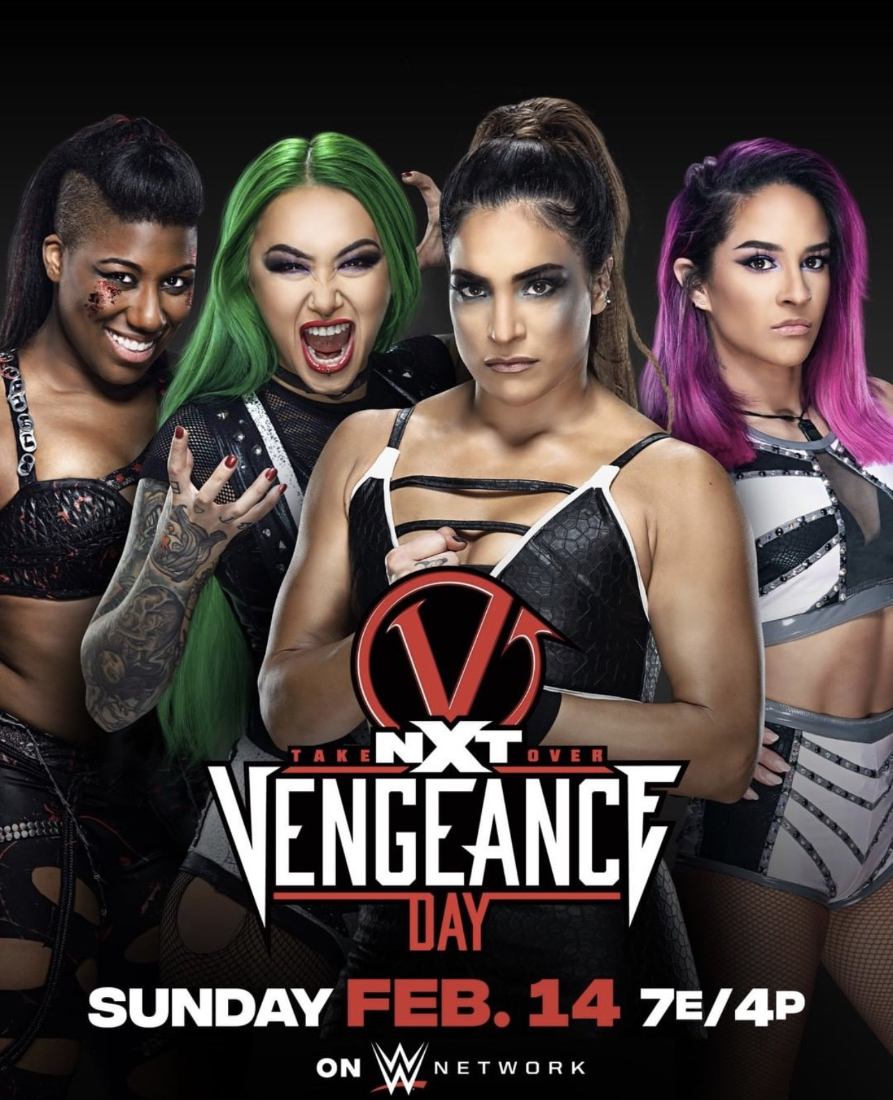 WWE NXT TakeOver Vengeance Day (14 February 2021) English 720p HDTV 1.8GB