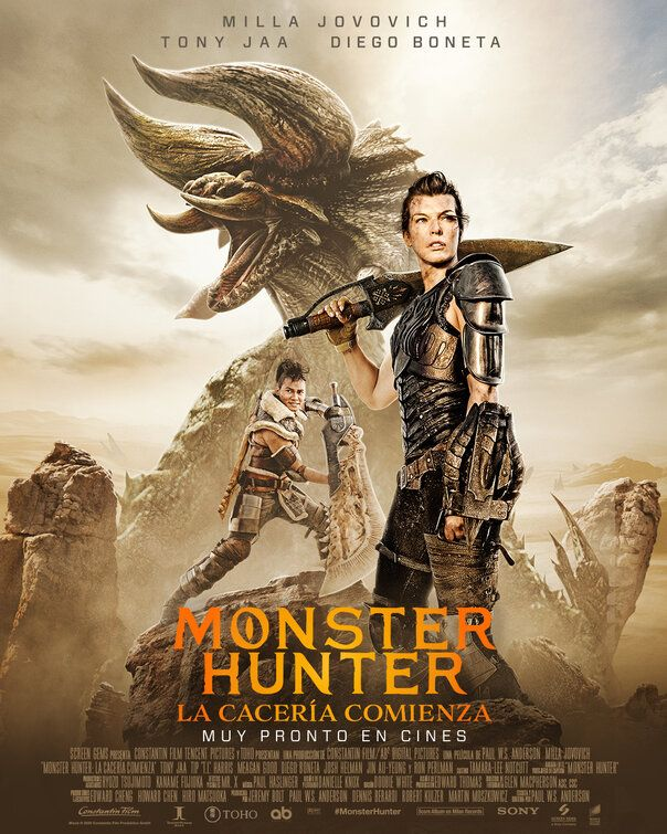 Monster Hunter 2020 English 720p HDRip 945MB ESub Download