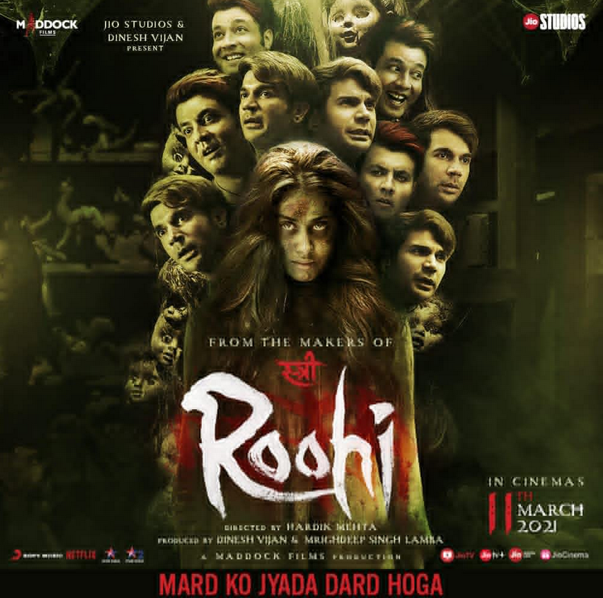 Roohi 2021 Hindi Official Trailer 1080p HDRip 30MB Download