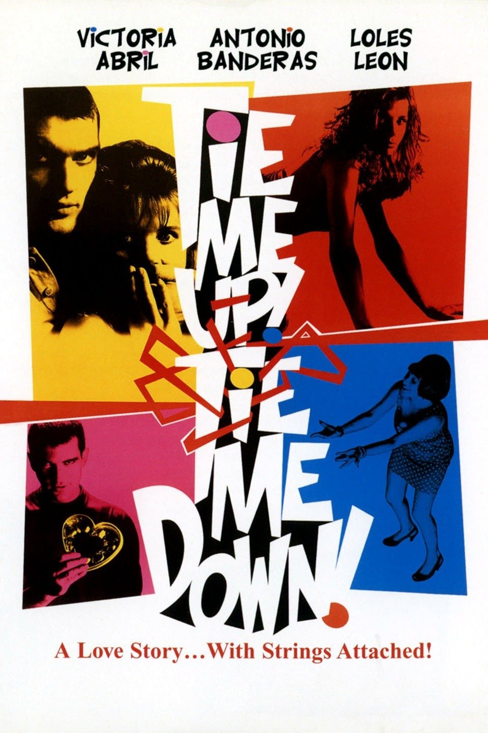 18+ Tie Me Up Tie Me Down 1989 Spanish Full Movie 330MB BluRay Download