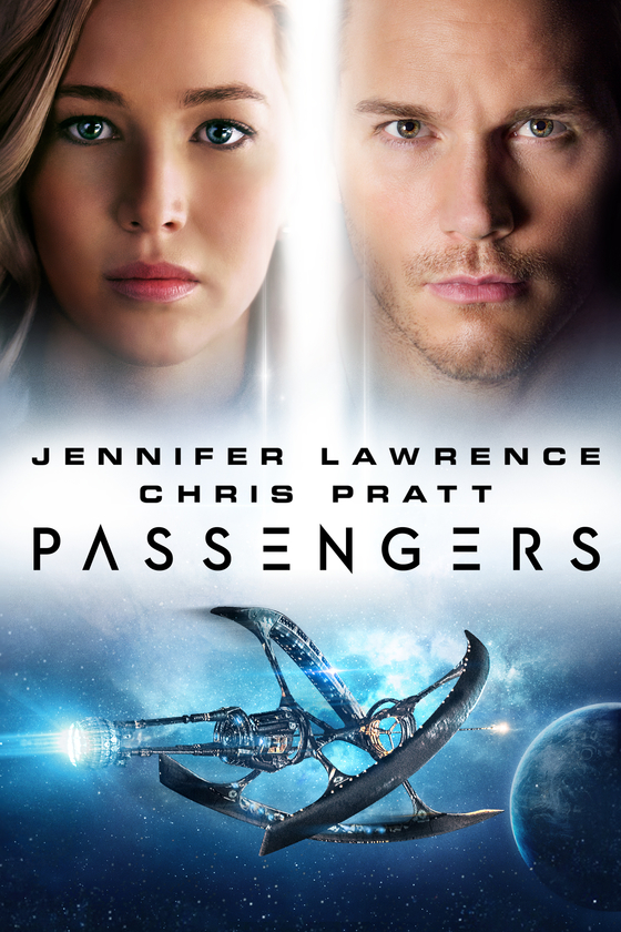 Passengers 2016 Hindi Dual Audio 720p BluRay ESubs 900MB x264 AAC