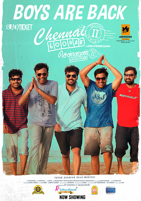 Chennai 600028 II (2021) Hindi Dubbed 720p HDRip 850MB x264 AAC