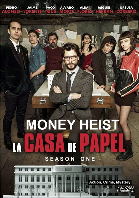 Money Heist 2017 S01 Complete Hindi NF Series 1.4GB HDRip 480p Download