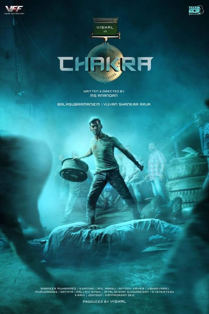 Chakra 2021 Tamil 720p Pre-DVDRip 1.4GB Download