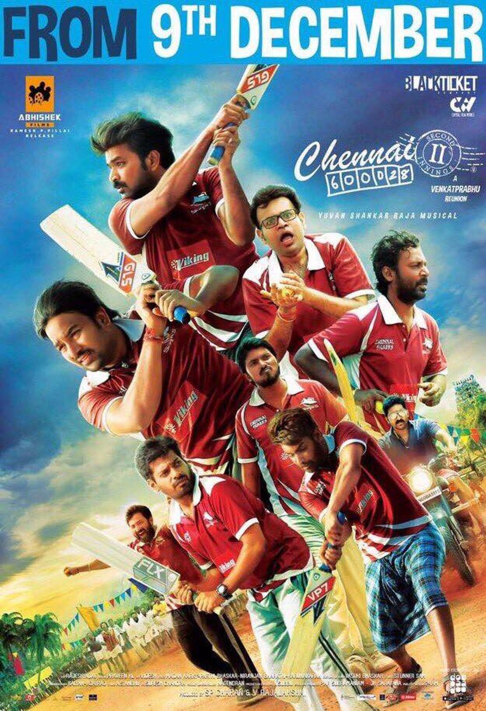 Chennai 600028 II 2021 Hindi Dubbed 480p HDTVRip 400MB Download