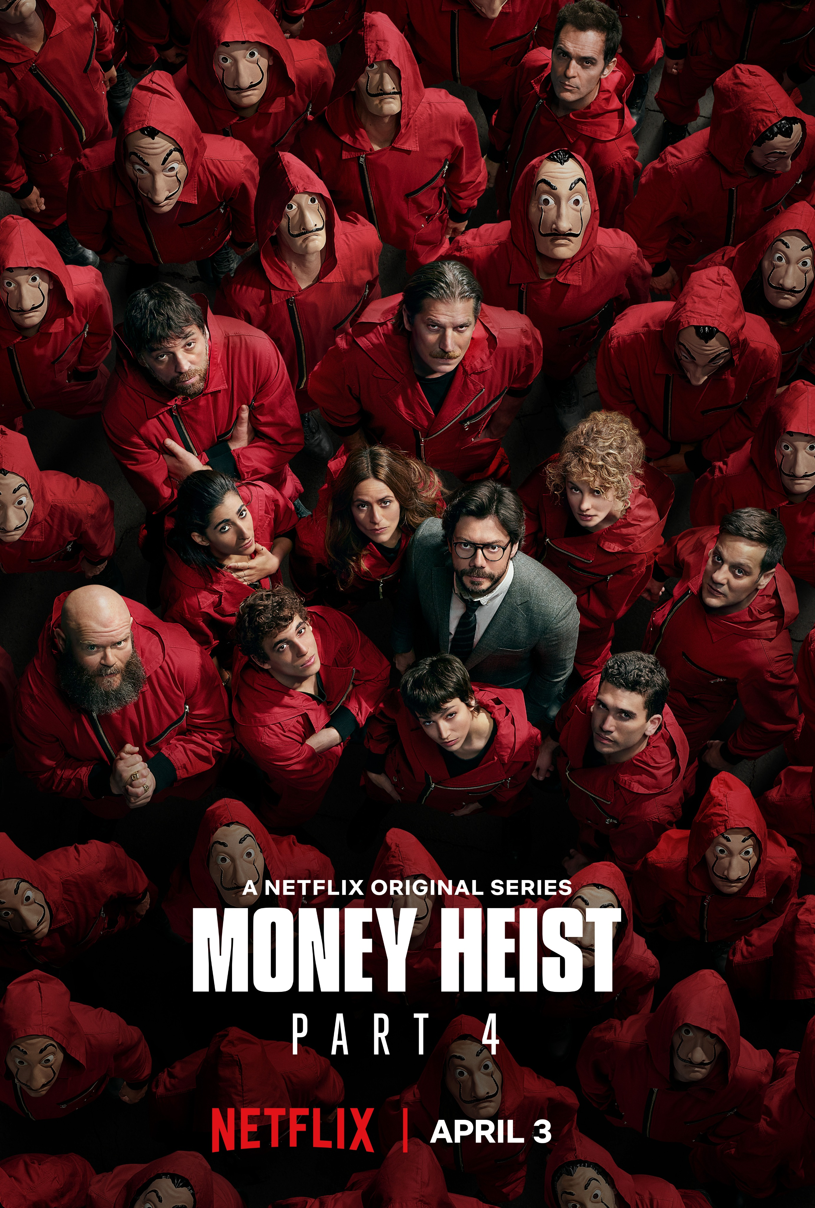 Money Heist S04 2020 Hindi Dubbed NF Complete Series 1.3GB HDRip Download