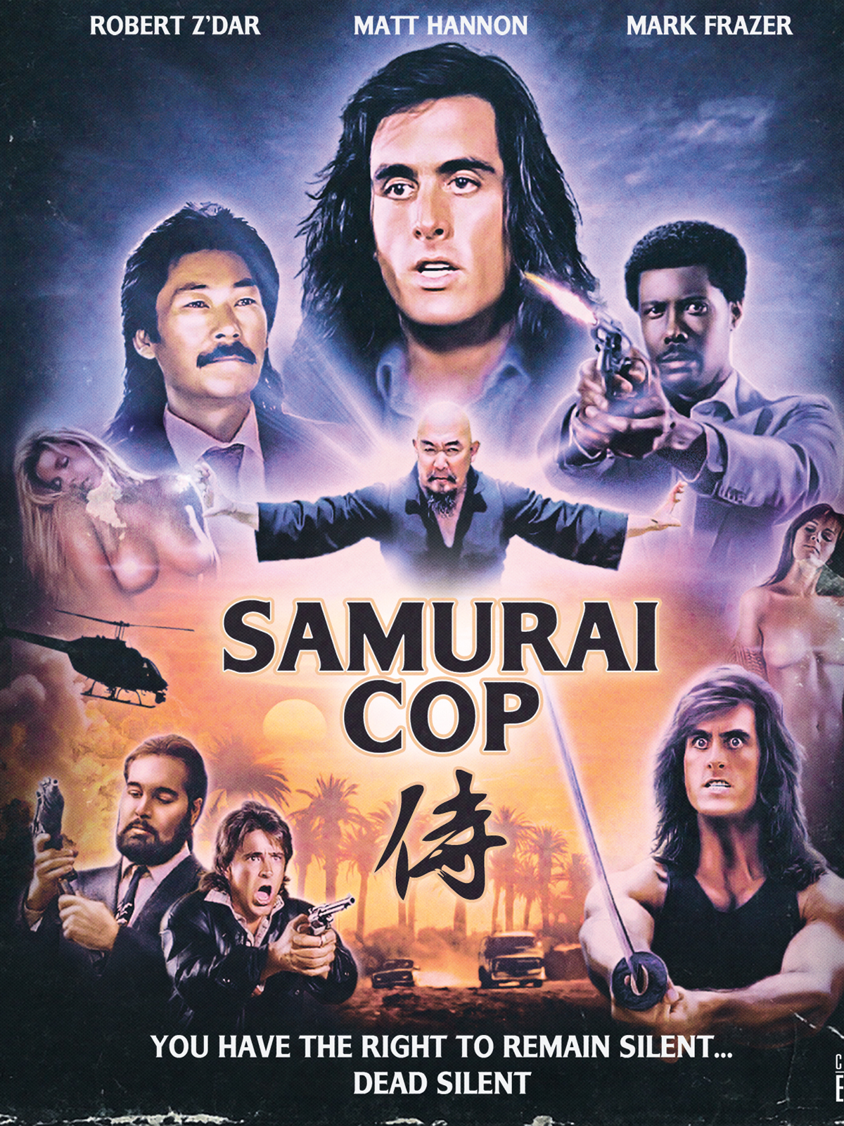 18+ Samurai Cop 2021 English Hot Movie 720p BluRay 800MB Download