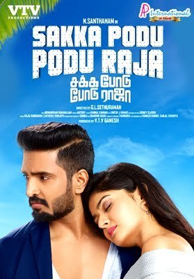Sakka Podu Podu Raja 2017 Dual Audio Hindi 450MB UNCUT HDRip ESub Download
