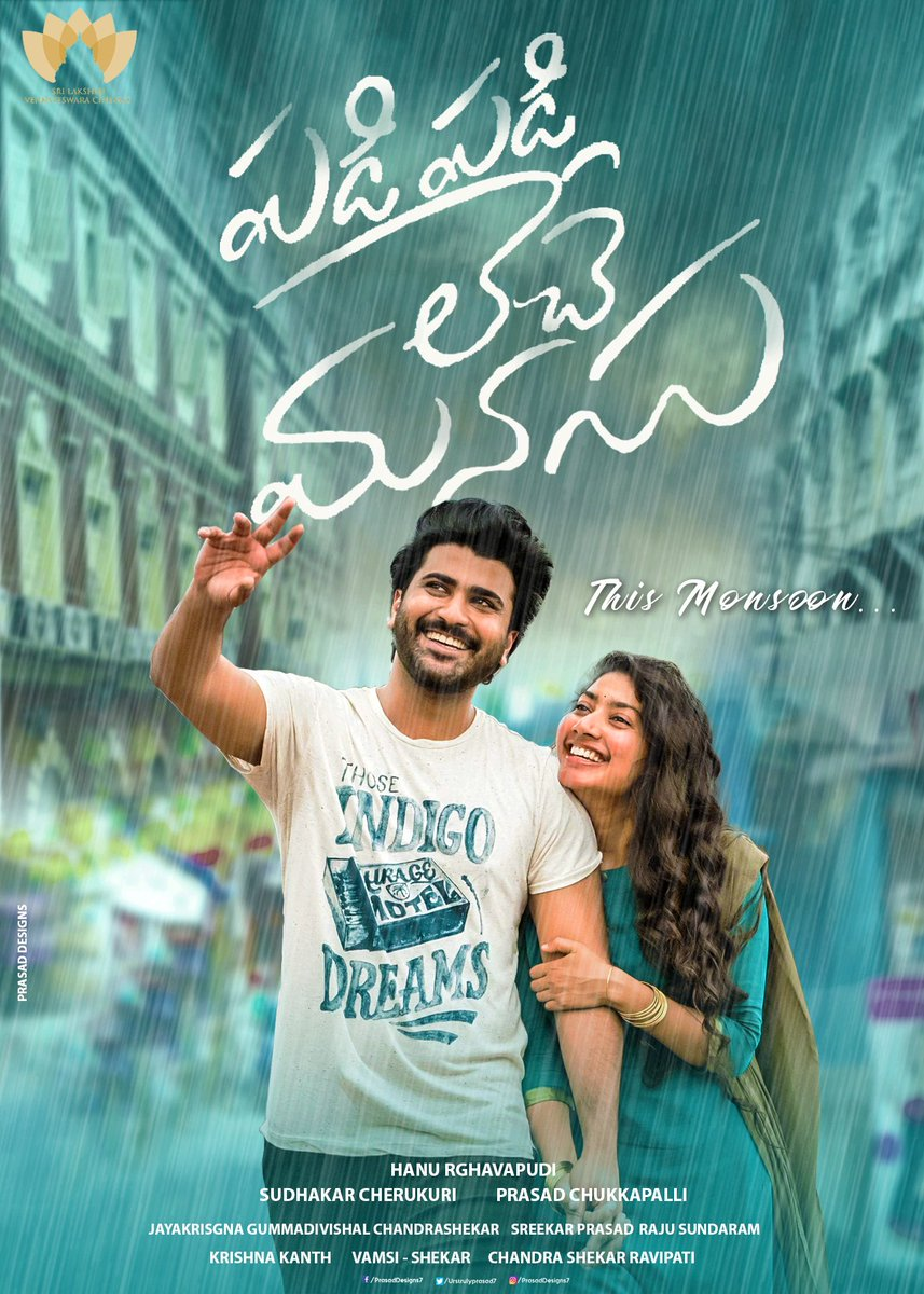 Padi Padi Leche Manasu 2021 UNCUT Dual Audio Hindi ORG 720p HDRip x264 AAC 850MB ESub