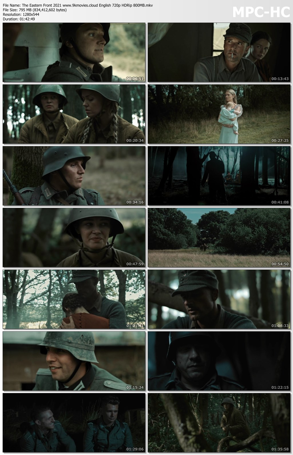 The Eastern Front 2021 English 720p HDRip 800MB