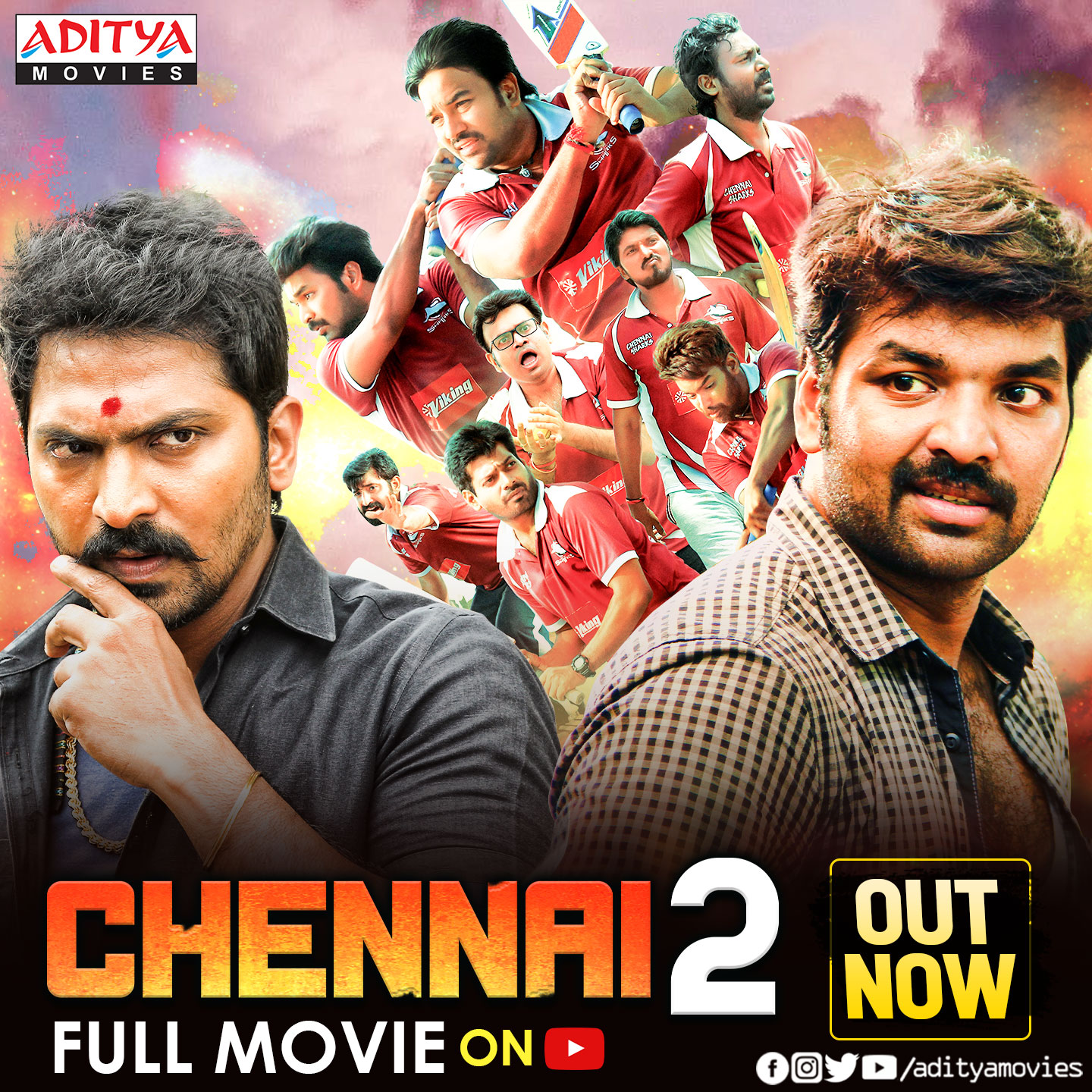 Chennai 2 (Chennai 600028 II) 2021 Hindi Dubbed 720p HDRip 900MB Download
