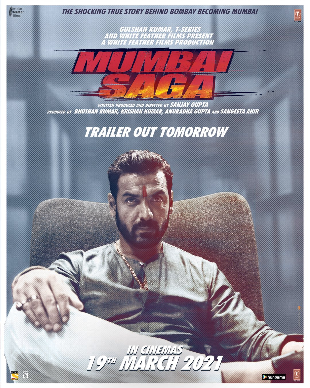 Mumbai Saga 2021 Hindi Official Trailer 1080p HDRip 62MB Download