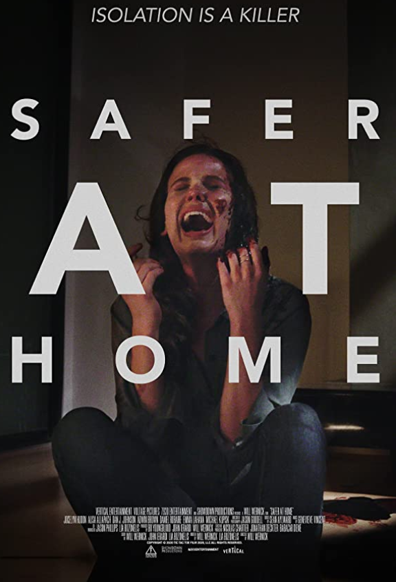 Safe at Home 2021 English 720p HDRip 800MB Download