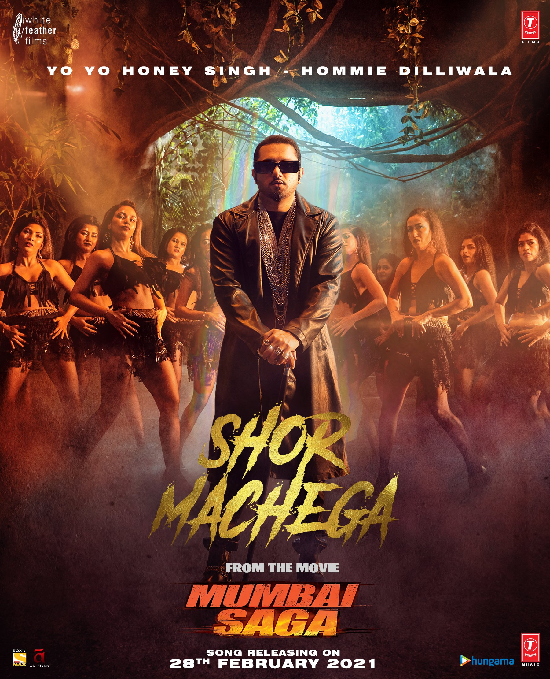 Shor Machega (Mumbai Saga) 2021 By Yo Yo Honey Singh Hindi Video Song 1080p HDRip 99MB Download