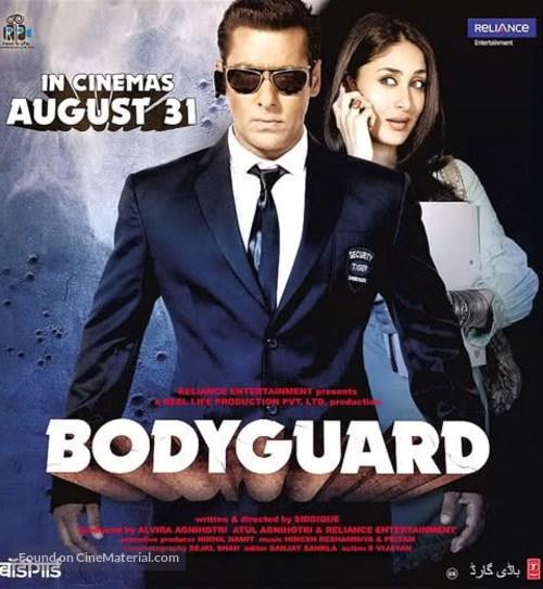 Bodyguard 2011 Hindi Full Movie 380MB HDRip ESub Download