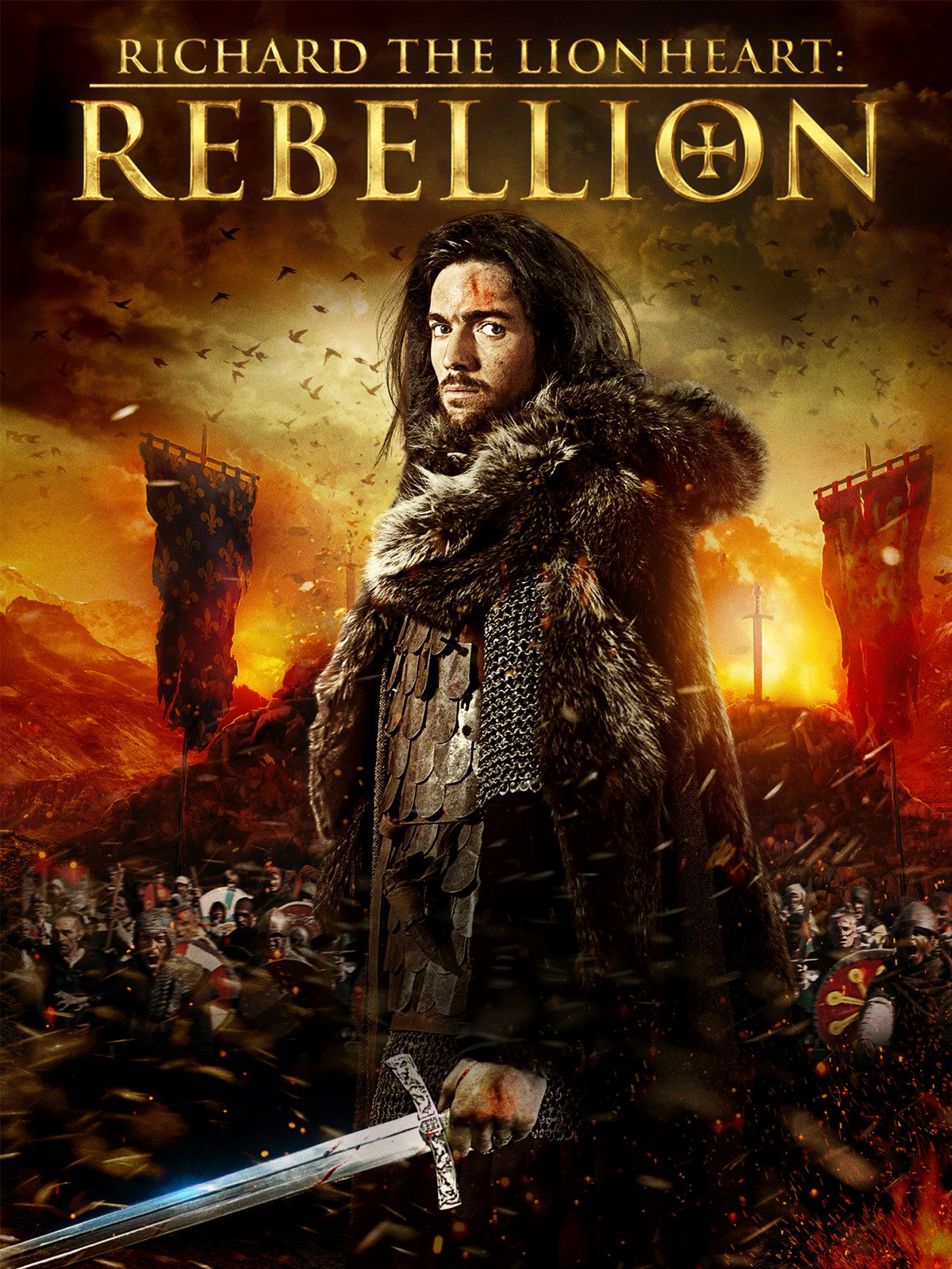 Richard The Lionheart Rebellion 2015 Hindi Dual Audio 350MB BluRay ESub Download