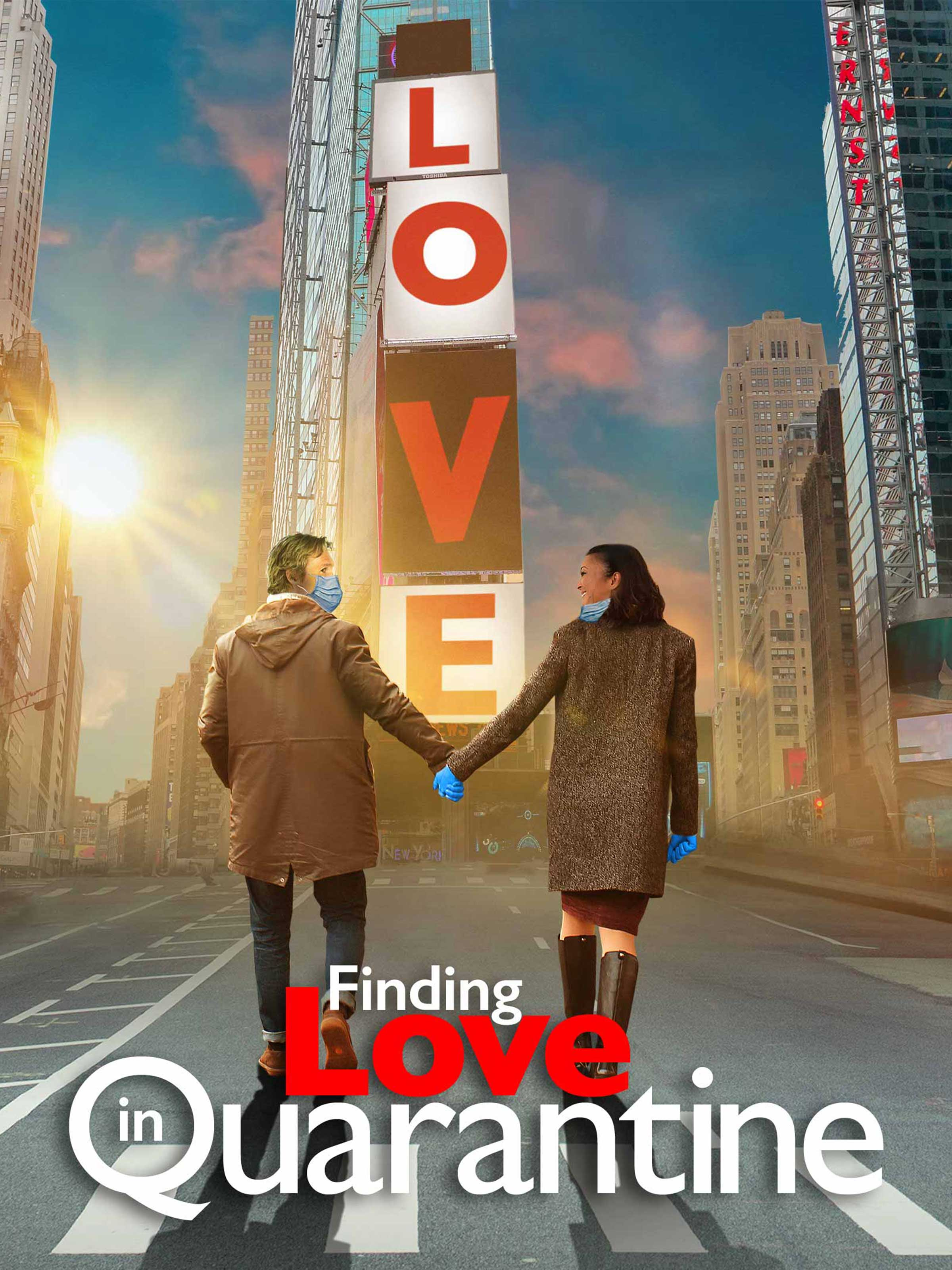 Finding Love in Quarantine 2021 English 720p HDRip 800MB Download