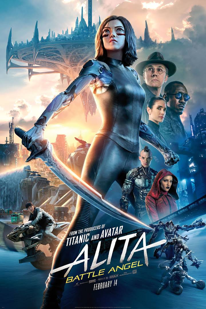 Alita Battle Angel 2019 Dual Audio Hindi 720p BluRay 950MB Download