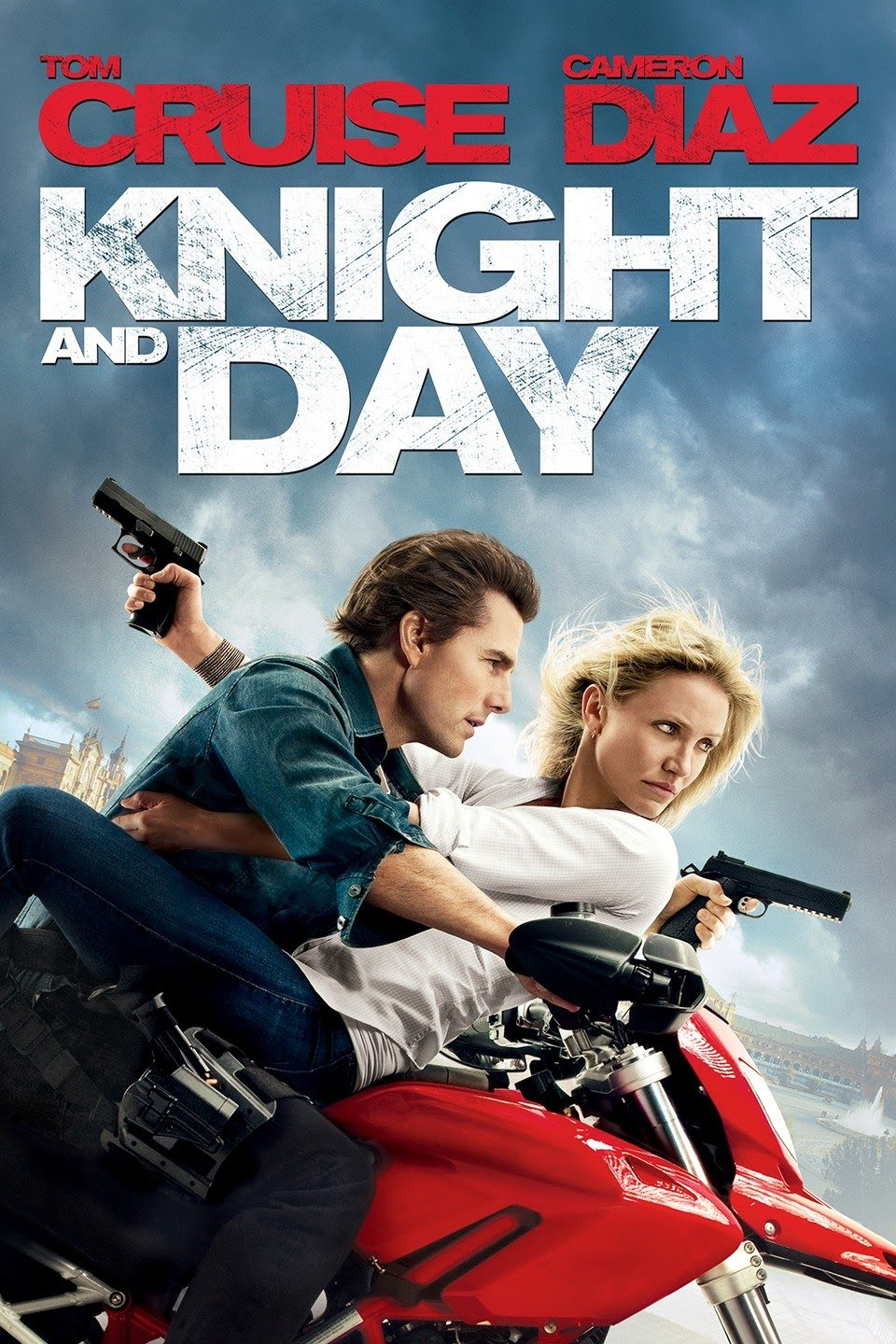 Knight and Day 2010 Extended Hindi Dual Audio 450MB BluRay ESubs Download