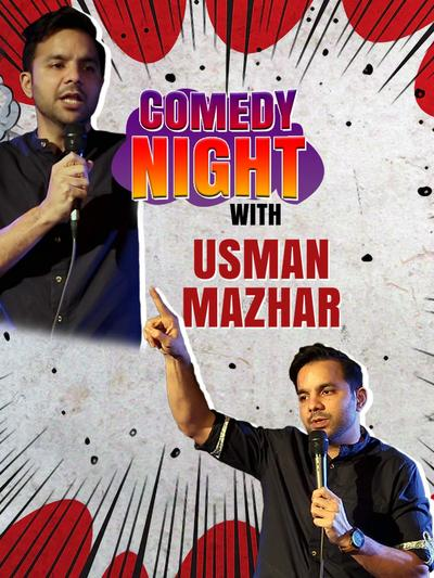 Comedy Night With Usman Mazher 2021 Hindi Stand Up Comedy Show 720p HDRip 380MB